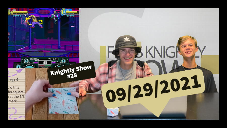 Knightly Show #28 | Origami Tutorials, Game Reviews, and more!
