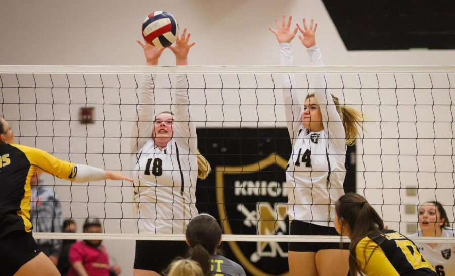 Varsity Girls Volleyball Falls to FZE on Senior Night [Photo Gallery]