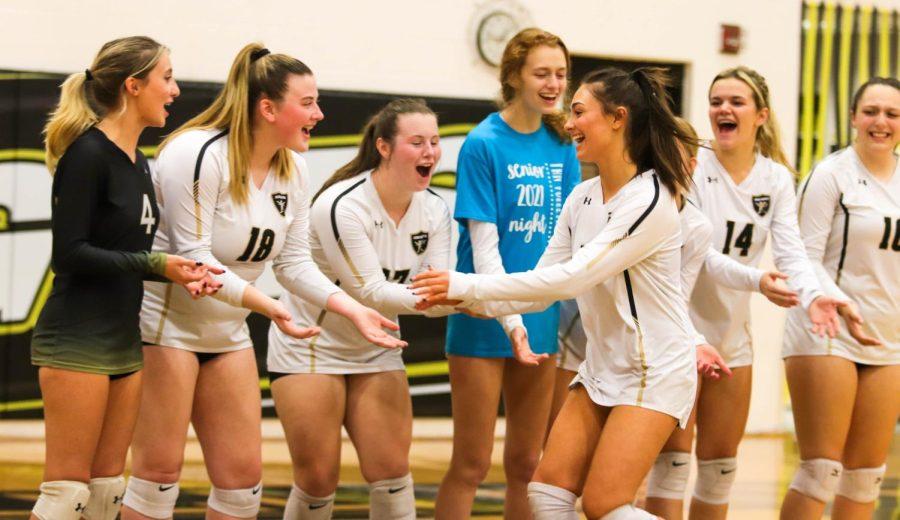 FHN Girls Varsity Volleyball Senior Night 2021