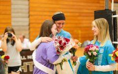 Varsity Girls Volleyball Senior Night Ceremony [Photo Gallery]