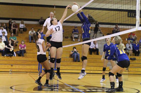 JV volleyball team learns from first loss of season