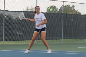 Day Two Girls Tennis GAC Recap