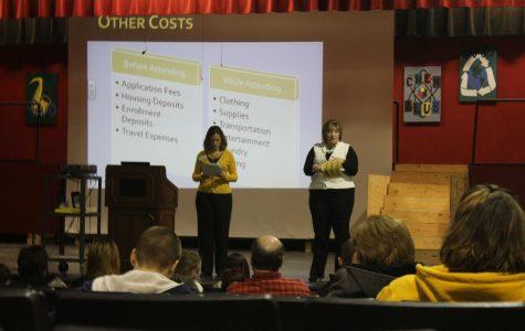 Financial Aid Meeting Being Held In Auditorium