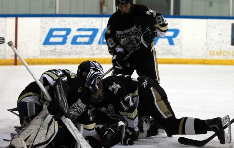 North Knights Varsity Hockey Eliminated by Rival Howell Central.