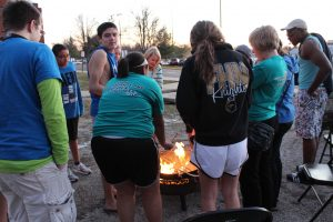 Last years StuCo members at the Winter Warm Up.