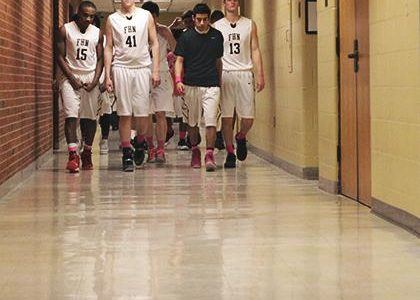 Varsity Boys Basketball Team Fights to Stay Atop the Conference