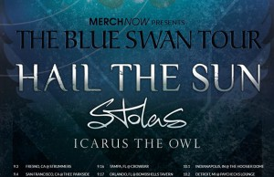 The poster advertising the Blue Swan Tour