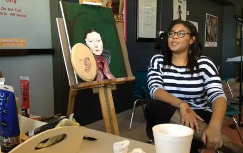 Haley Shumpert Paints at Coffeehouse [Video]