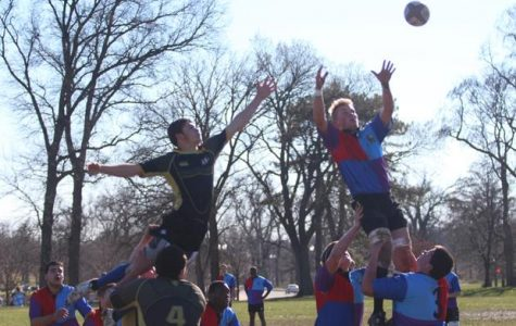 Rugby Team Plays First League Game