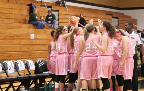 FHN vs Timberland Girls Basketball Pink Ribbon Game 2016