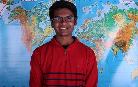 Senior Pratyush Sontha travels to India with his family