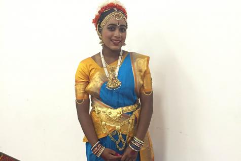 Shikha Annem Does Indian Dance