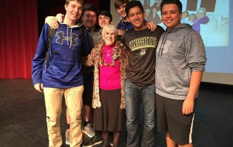 Holocaust Survivor to Speak to Sophomore English Classes on Nov. 28