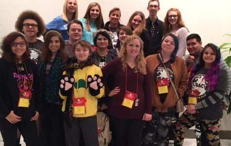 FHN Students Leave Early from Annual Thespian Conference