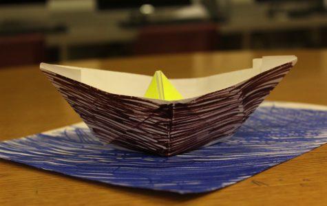 DIY Origami Boat [Photo Gallery]