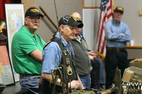 Vietnam Veterans of America Visit FHN History and Drama Classes [Story+Photo Gallery]