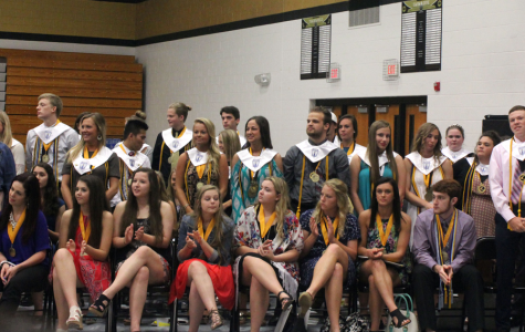 Honoring Seniors on Senior Awards Night