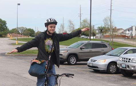 Ricky Gorzel Chooses His Bike as His Main Source of School Transportation