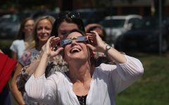 FHN Students View Solar Eclipse From Football Field As A Group [8-21 Photo Gallery]