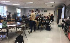 Mandy Knight's Painting Class Prepares for Project This Week
