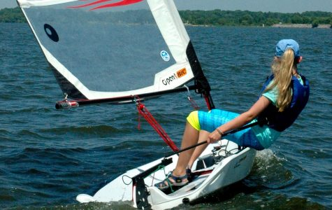 Freshman Brenna Hood Participates in the Unique Activity of Sailing, Both Competitively and Recreationally with Her Family