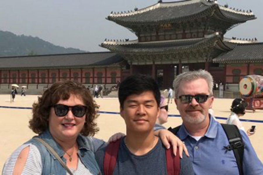 Senior Grant Argent Went to South Korea Over the Summer to Learn About the Culture of His Birthland