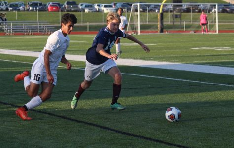 Senior Thomas Bell and Richie Taylor Take on a Leadership Role on the Soccer Team
