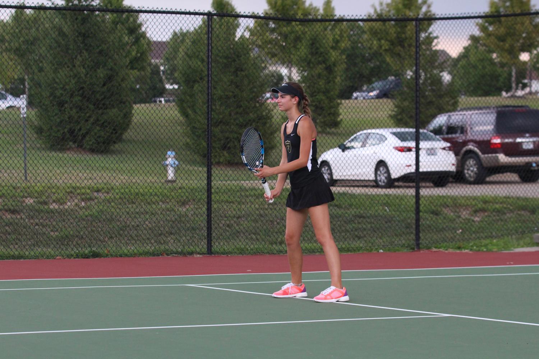 Tennis Q & A with Katie Prinkey