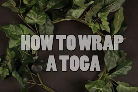 Homecoming Spirit Week Kicks Off on Friday With a Toga Day