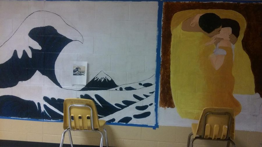 Art Club Designs Two New Murals