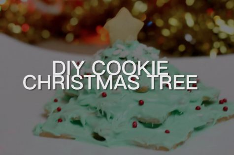 DIY Cookie Christmas Tree