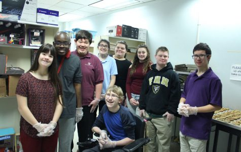 Students with Special Needs Bake DECA Cookies