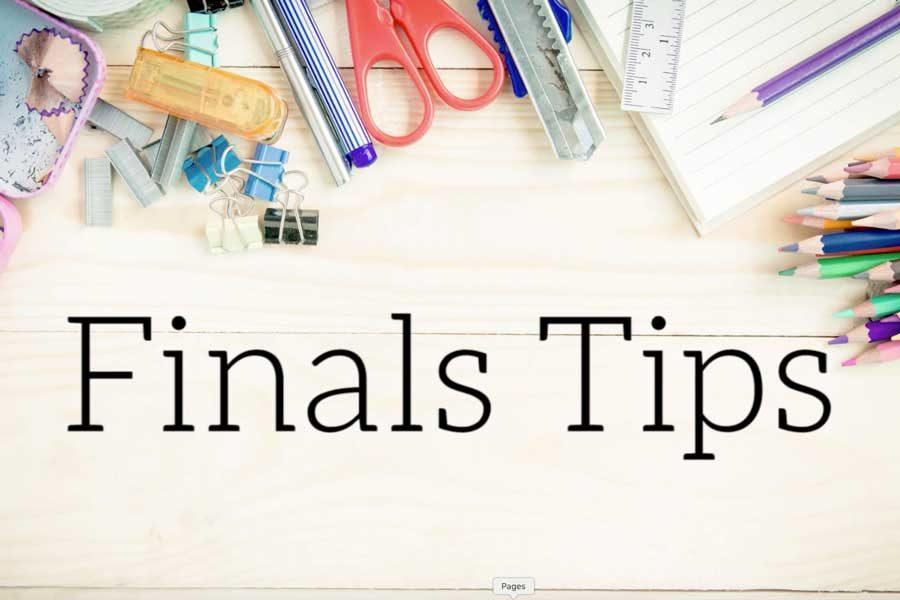 Finals Tips