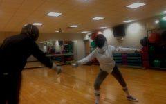 Estefania Cruz Competes in Fencing Matches