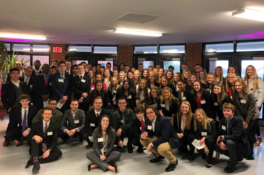 On+Feb.+7%2C+DECA+had+78+students+compete+in+the+DECA+District+Conference%2C+with+38+of+them+qualifying+for+state.+%28photo+submitted%29