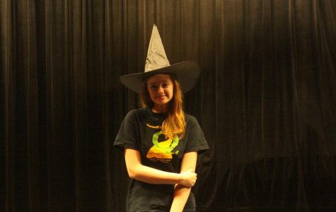 Senior Delaney Echelmeyer is Playing the Wicked Witch of the West for Young Peoples' Theater