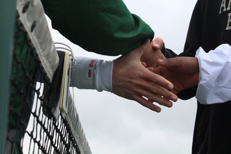 Boys Tennis Starts their Season Hand In Hand and with High Hopes