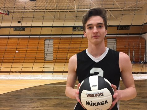 Thomas Beye Steps Up to Lead Boys Volleyball