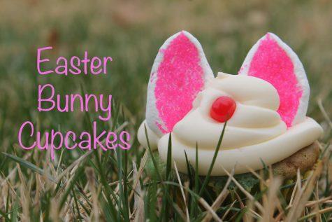 DIY Easter Bunny Cupcakes