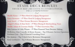 FHN DECA Returns from State and Looks to ICDC