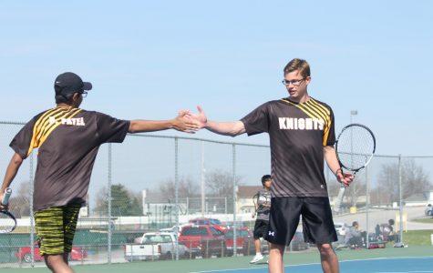 4-17 Varsity Tennis vs SCW [Photo Gallery]