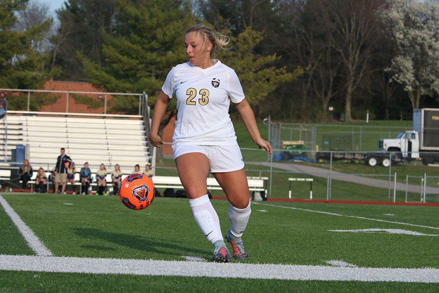 4-17 Varsity Girls Soccer vs. TBHS [Photo Gallery]