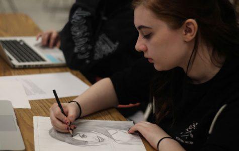 AP Art Studio Displays Artwork at Lillian Yahn Art Gallery
