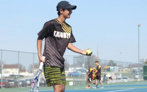 Senior Dev Patel Looks Back Over the Years of His Tennis Career