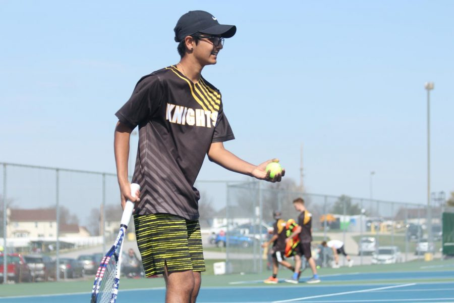 Senior Dev Patel Looks Back Over the Years of His Tennis Career