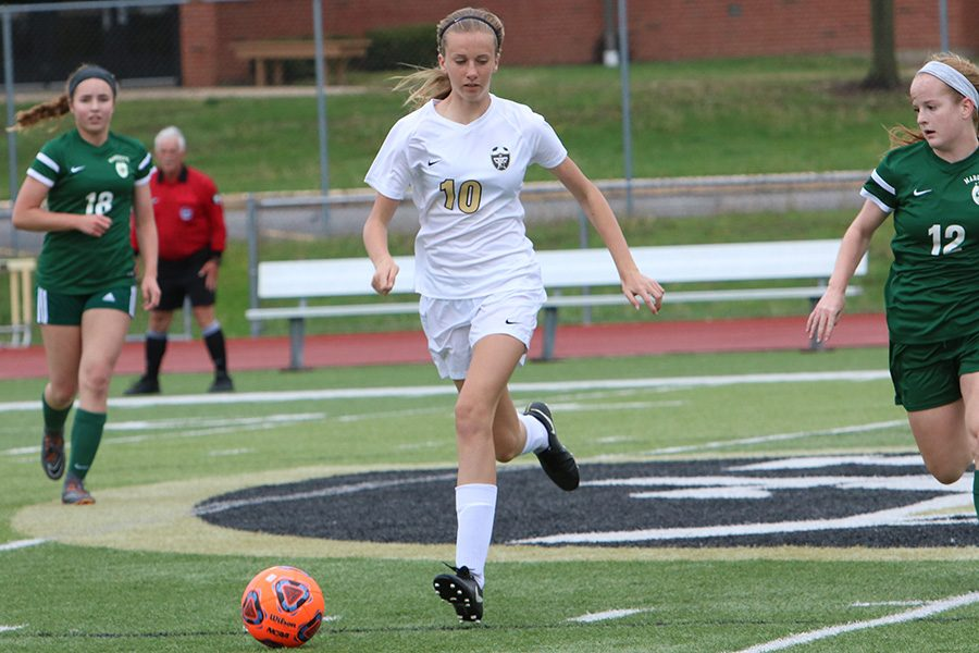 Alli Vernon on Making it to Varsity in Freshman Year and Goals for Districts